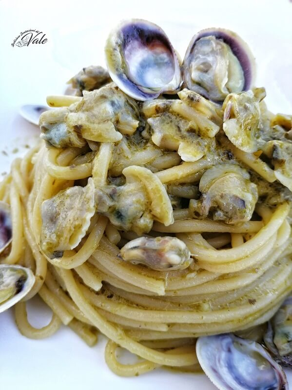 spaghetti pesto e lupini (2)