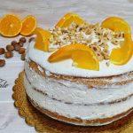 torta a strati arance e nocciole