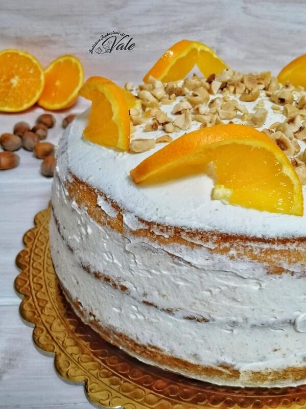 torta a strati arance e nocciole (2)