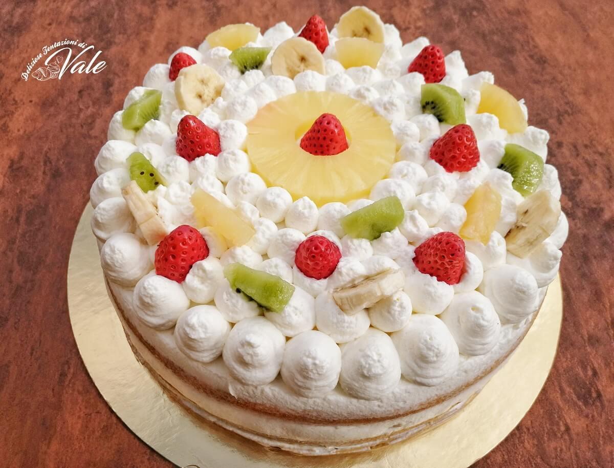 Torta Decorata Alla Frutta Semplice Ma D Effetto