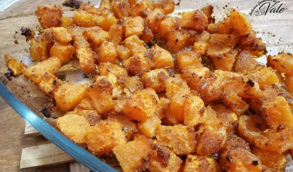 zucca sabbiosa al forno