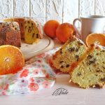 ciambella arance e gocce di cioccolato