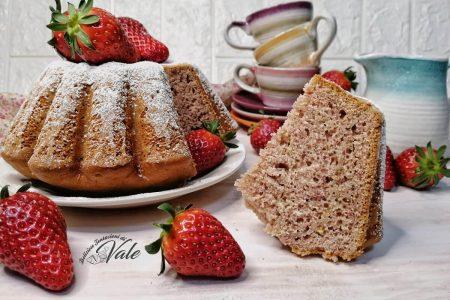 torta fior di fragola