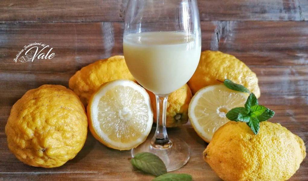 crema di limoncello con menta e vaniglia