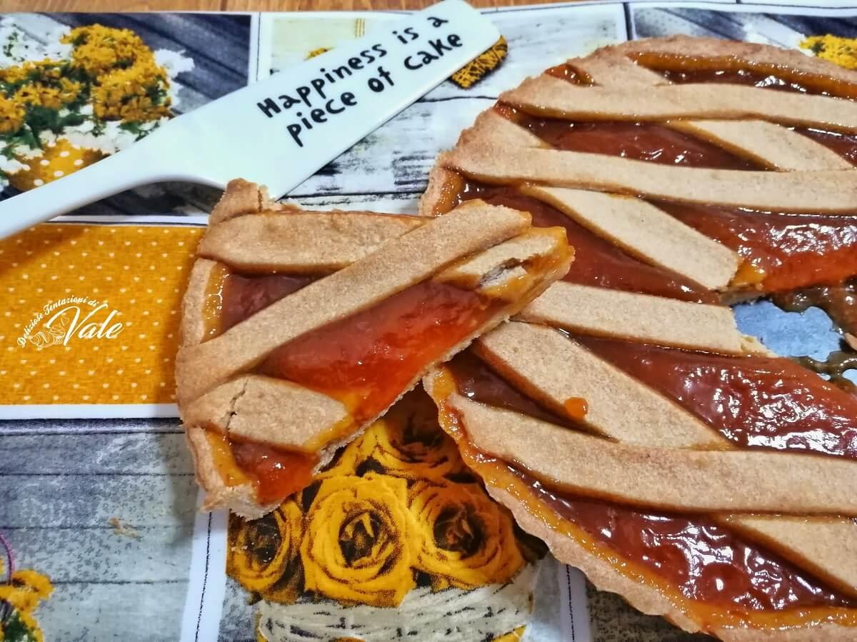 crostata con frolla alla cannella e confettura di albicocche (1)