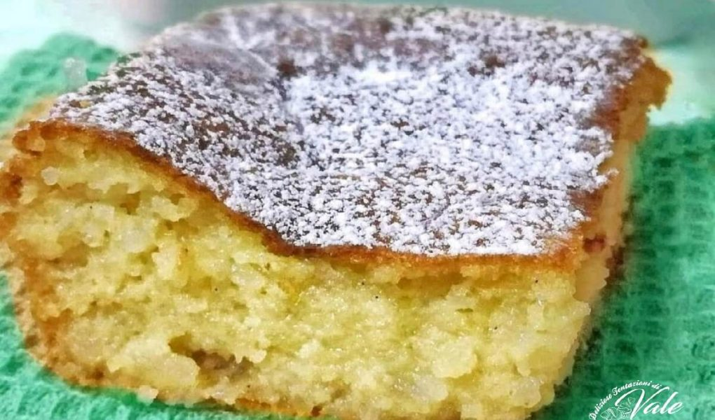 torta di riso profumata al limone