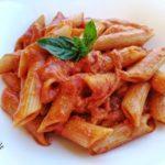 Pasta al Sugo di Mozzarella Affumicata