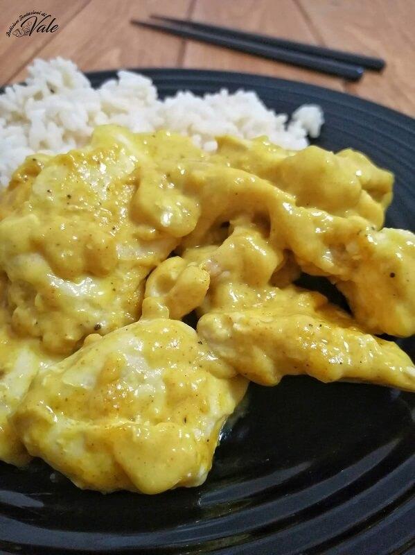Pollo al Curry e Riso al Cocco (2)