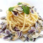 Spaghetti con le Telline Cannavacciuolo