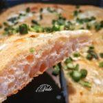 pizza con asparagi e mozzarella (bonci)