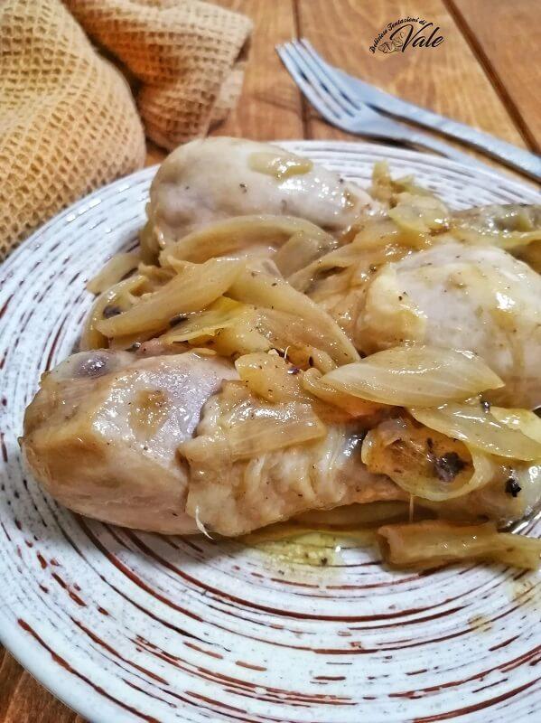 pollo con le cipolle in padella (2)