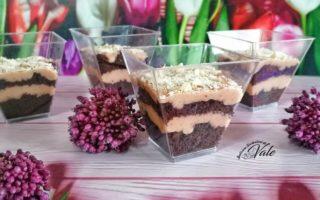 torta al cioccolato e curd alle fragole