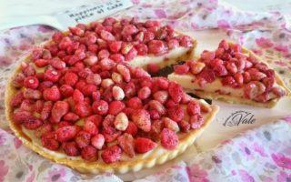Crostata di Fragoline e Crema