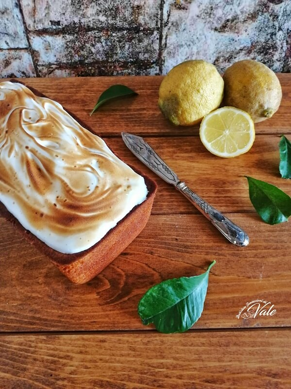Plumcake Soffice al Limone con Meringa (2)