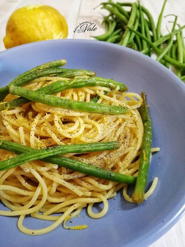 Spaghetti Fagiolini e Limone (2)