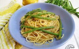 Spaghetti Fagiolini e Limone