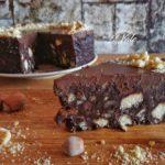 Torta Cioccolato e Biscotti Senza Cottura