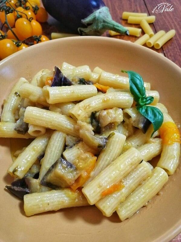 Tortiglioni con Melanzane a Funghetto (2)