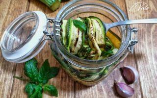 Zucchine Grigliate Sott'Olio