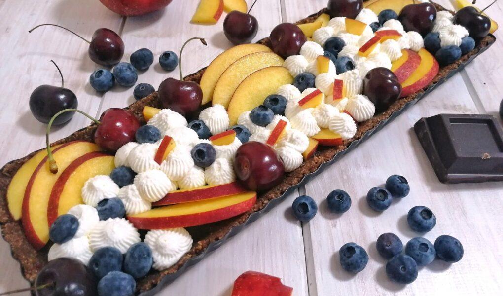 Crostata al Cioccolato e Frutta