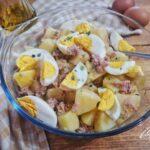 Insalata di Patate con Tonno e Uova