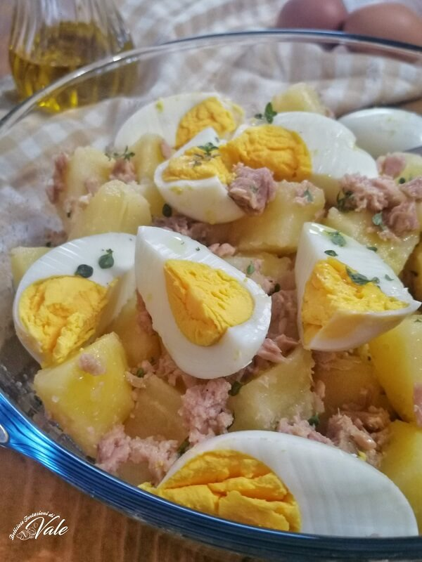 Insalata di Patate con Tonno e Uova (2)