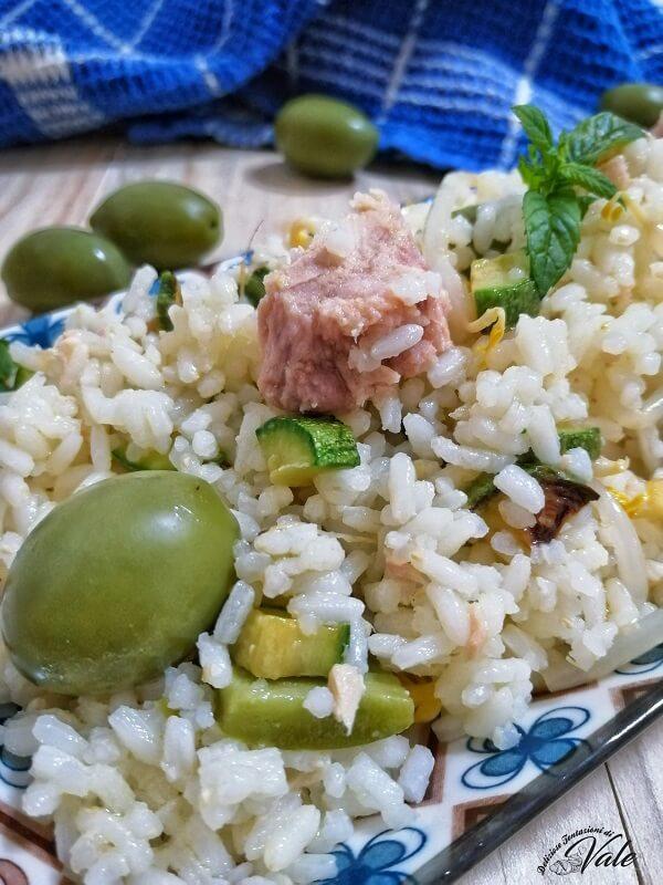 Insalata di Riso con Tonno e Zucchine (2)
