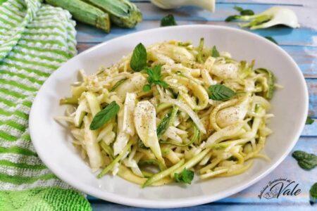 Insalata di Zucchine e Finocchi