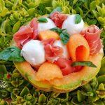 Antipasto Melone, Prosciutto e Mozzarella