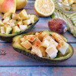 Insalata di Avocado, Formaggio e Pere
