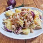 Insalata di Tonno, Fagioli, Patate e Cipolle