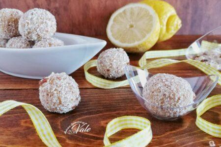 Tartufini Cocco e Limone