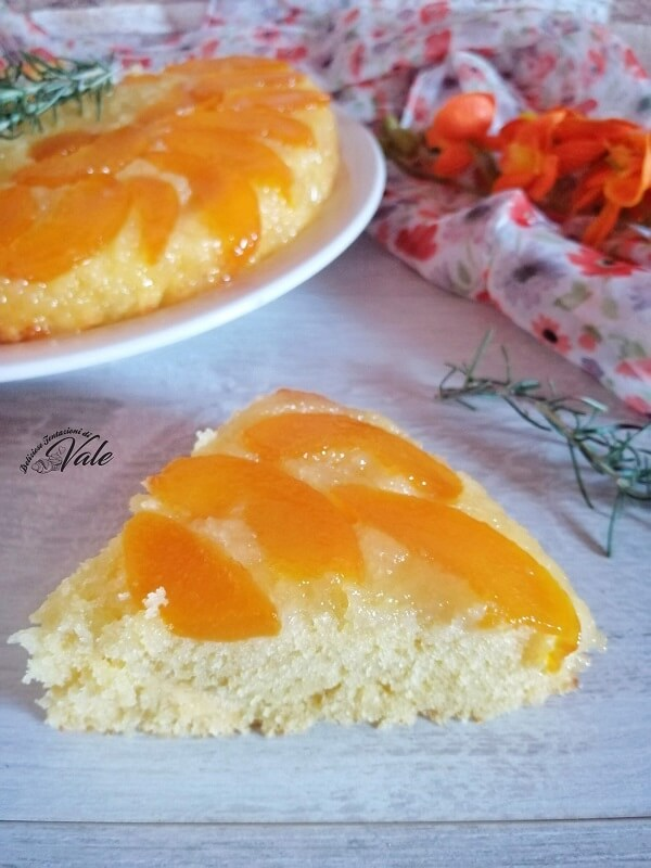 Torta Rovesciata alle Pesche Sciroppate (2)