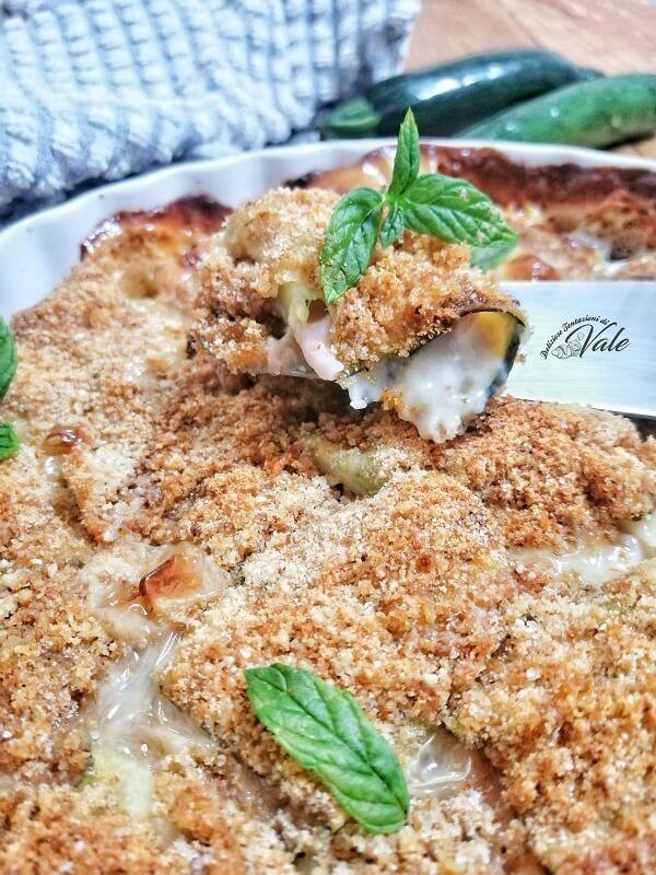 Involtini di Zucchine al Forno (2)