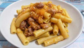 Rigatoni Zucca e Salsicce