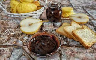 Confettura di Pere al Cioccolato