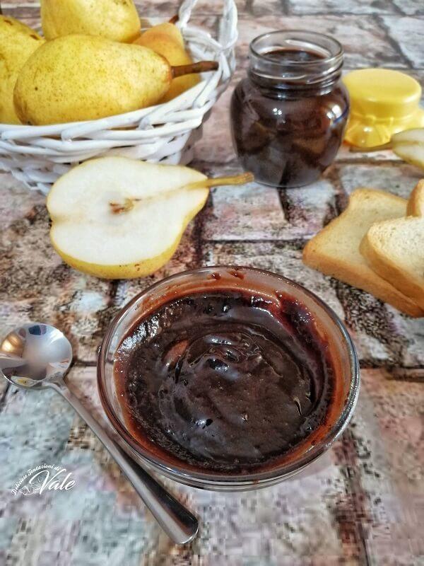 Confettura di Pere al Cioccolato deliziosa
