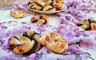 Girandole Dolci di Pasta Sfoglia farcite con confettura o nutella