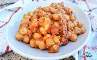 Gnocchetti di Patate al Sugo senza cottura in forno