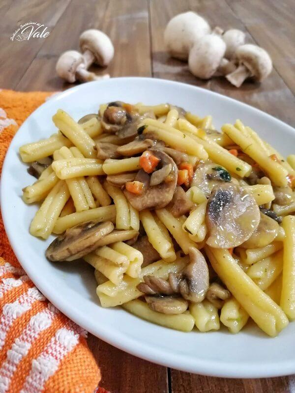 Pasta ai Funghi Misti senza panna