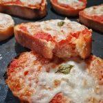 Pizze Margherita di Pane