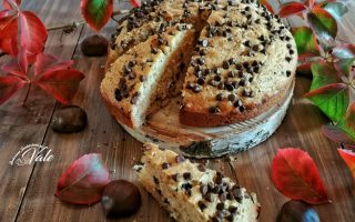 Torta alle Castagne con Gocce di Cioccolato