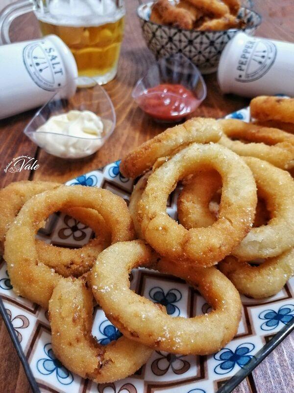 Anelli di Cipolla Fritti (onion rings)