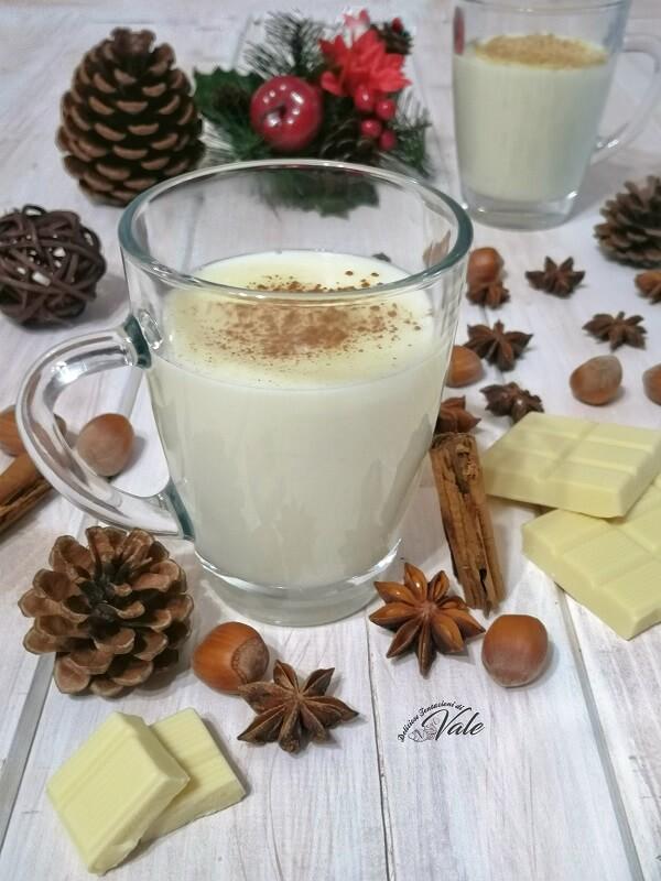 Cioccolata Calda Bianca fatta in casa