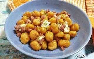Gnocchi di Zucca senza patate