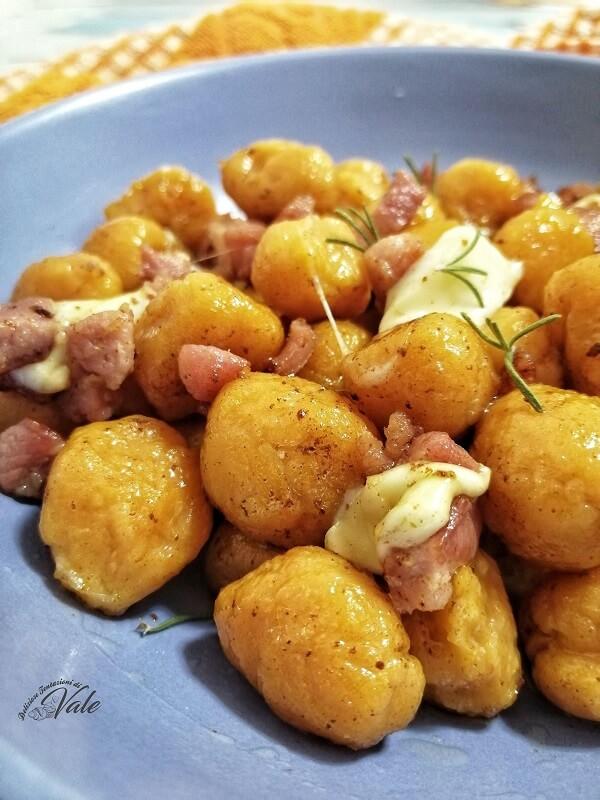 Gnocchi di Zucca (senza patate)
