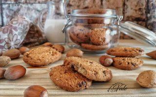Schiaccianoci, Biscotti con Frutta Secca e Cioccolato