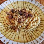 Spaghetti Tonno e Olive Nere