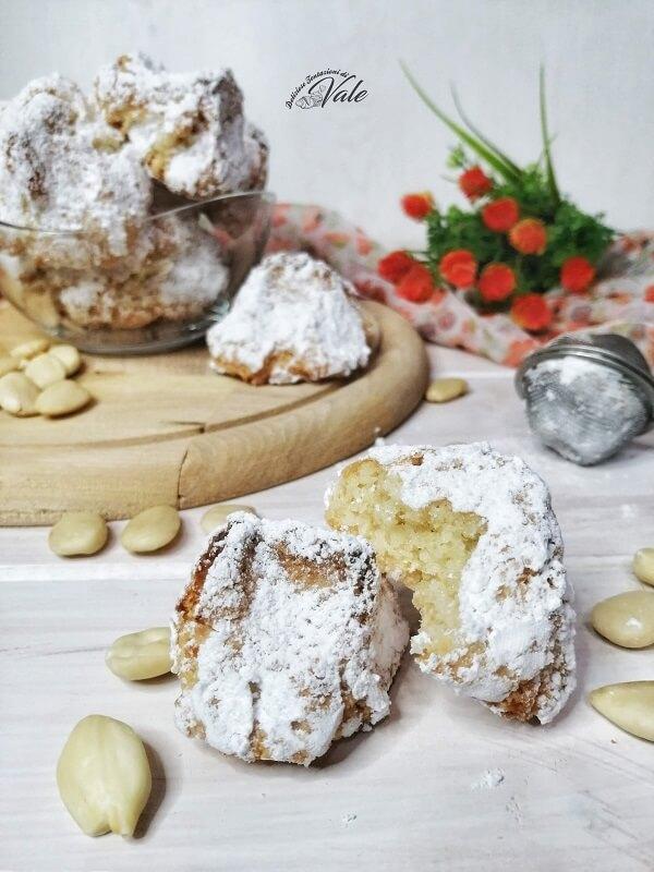 Biscotti alle Mandorle senza farina