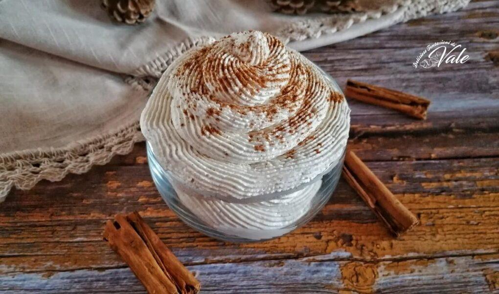 Crema alla Cannella Senza cottura